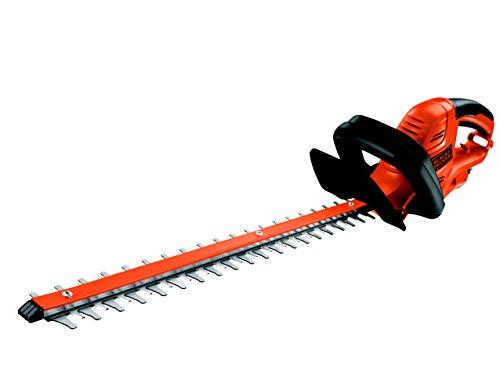 Black+Decker Elektrische Heckenschere GT5055 mit Kabelzugentlastung und Direktanschluss des Verlängerungskabels für maximalen Komfort – 22mm Schnittstärke – 500W – 55cm Sägeblatt-Länge – 2,8kg