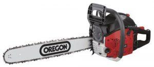 Scheppach Benzin Kettensäge CSP5300 ( 3,0 PS, Hubraum: 53 cm³, Schnittlänge: 51 cm, Oregon-Kette- und Qualitätsschwert, inkl. Handschutz und Systembremse)