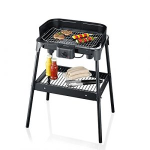 Severin PG 2792–Electric barbecue grill black (Zertifiziert und Generalüberholt)