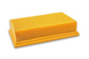 vhbw Flachfaltenfilter Filter Staubsauger Saugroboter Kärcher NT4 0/1 tact te, ProNT 200, 400, Radius 28 Deluxe, Xpert NT 360, NT 362 Eco, SB V1 Eco