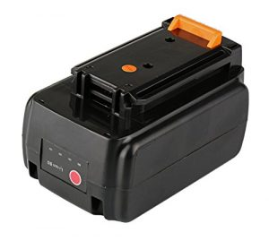 Mitsuru® 2000mAh Li-Ion 36V Akku Batterie für Black & Decker BL1336, BL1336-XJ, BL2036, BL2036-XJ, LBXR36