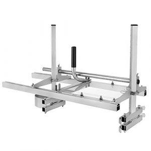 HUKOER Chainsaw Mill 36 Zoll Tragbare Kettensäge Mühle Aluminium Stahl Mig Schweißen Sägewerk 14″-36″ Planking Lumber Cutting Bar