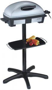 Cloer 6731 Barbecue-Grill mit Standfuss und Grillhaube