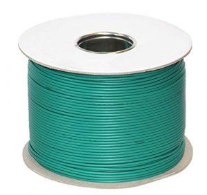 genisys Worx Landroid komp. Kabel Mähroboter Begrenzung Draht | HQ Kupfer | auf der Kabelrolle | Ø2,7mm, Länge:100m
