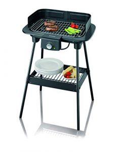 SEVERIN PG 8551 Barbecue-Grill, Standgrill (2.300 Watt, Grillfläche (37x23cm)) schwarz