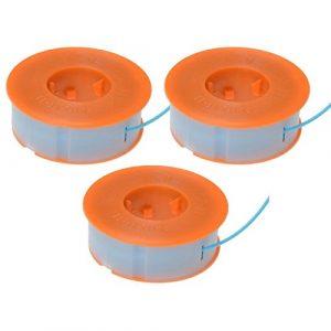 ALM Rasentrimmer 3 x Spule & Linien für Bosch ART 23 26 30 Combitrim lässt