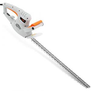 VonHaus Elektrische Heckenschere 550 W – 60 cm Schnittlänge und Messerabdeckung