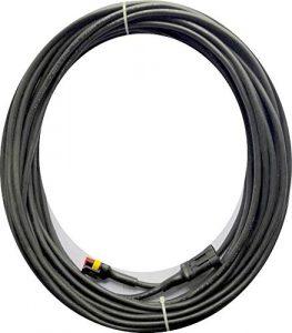 Transformator Kabel für Gardena Mähroboter – Niederspannung für Modelle: R38Li R40Li R45Li R50Li R70Li R75Li R80Li [Ersatzteile für Ladestation Nur Passend für Modelle ab 2016 2017 2018] – (10 meter)