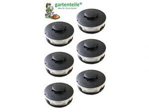 6 Spulen Passt für EINHELL CG-ET4530 / Ersatzspule/Doppel – Fadenspule Passend für Elektro Rasentrimmer/Freischneider / Kantentrimmer Spule Einhell CG-ET4530