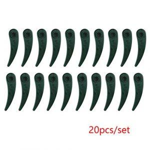 MElnN Rasentrimmer Ersatzklingen ART23-18 Li/26-18Li Rasenmäher Sicherheitsklingen für Bosch, 10/20 Stück, Wie abgebildet, 20pcs