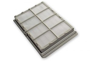 vhbw Ersatz Hepa Allergie Abluft Filter für Staubsauger Siemens Bosch VS74B00/01, VS90A0000 bis 99A9999, VS91A0104, VS92A01CH/01 wie VZ54000, 263506.