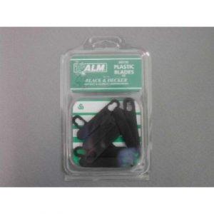 Klingen: Kunststoff, 10 Stück Black Decker &GR120 / C, GX295 C / clip für Rasenmäher Alm Ausstecher aus Kunststoff