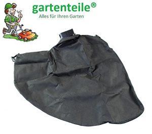 gartenteile Laubsauger Fangsack passend für Einhell Royal REL 2100 Elektro Laubsauger Laubbläser. Auffangsack für Laubsauger mit eckigem Anschluss und Reißverschluss zum entleeren.