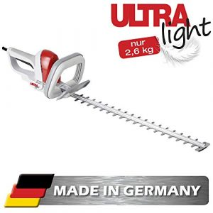 IKRA Elektro Heckenschere Ultralight FHS 1555 550W Schnittlänge 55cm Made in Germany 2,6kg