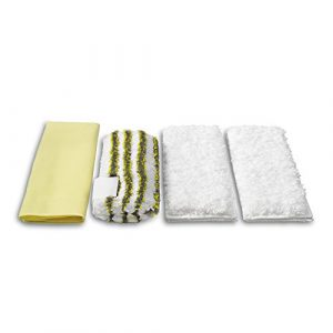 Kärcher 2.863–171.0Mikrofaser-Reinigungstücher für das Badezimmer-Kit
