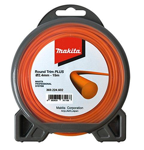 Makita 369224602 Maehfaden rund 2,4mmx15m, 2.4 mm x 15 m