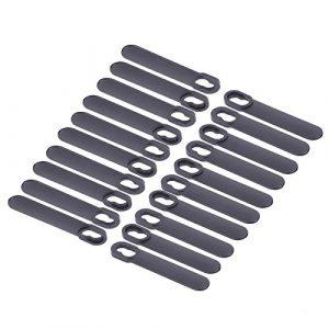 First4Spares Premium Clip auf Rasenmäher Klingen für Black + Decker GR120& gx295Rasenmäher–20Stück