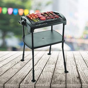 BBQ Barbeque Elektro-Standgrill Cool-Touch Elektrischer Grill Elektrogrill Balkon Standgrill/Tischgrill