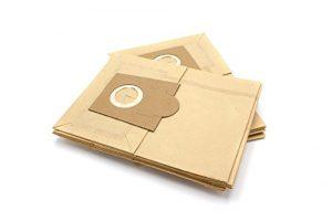vhbw 10 Staubsaugerbeutel Filtertüten aus Papier für Staubsauger Bosch Natura, Nova 10, Nova 11, Pro Hygiene Dymo, Pro Parquet, Sherpa, Solida