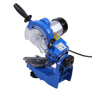 Kitechildhrrd 230W Kettenschleifgerät Kettenschärfer kettensägen Schärfgerät Sägekettenschärfgerät 3000RPM, Blau